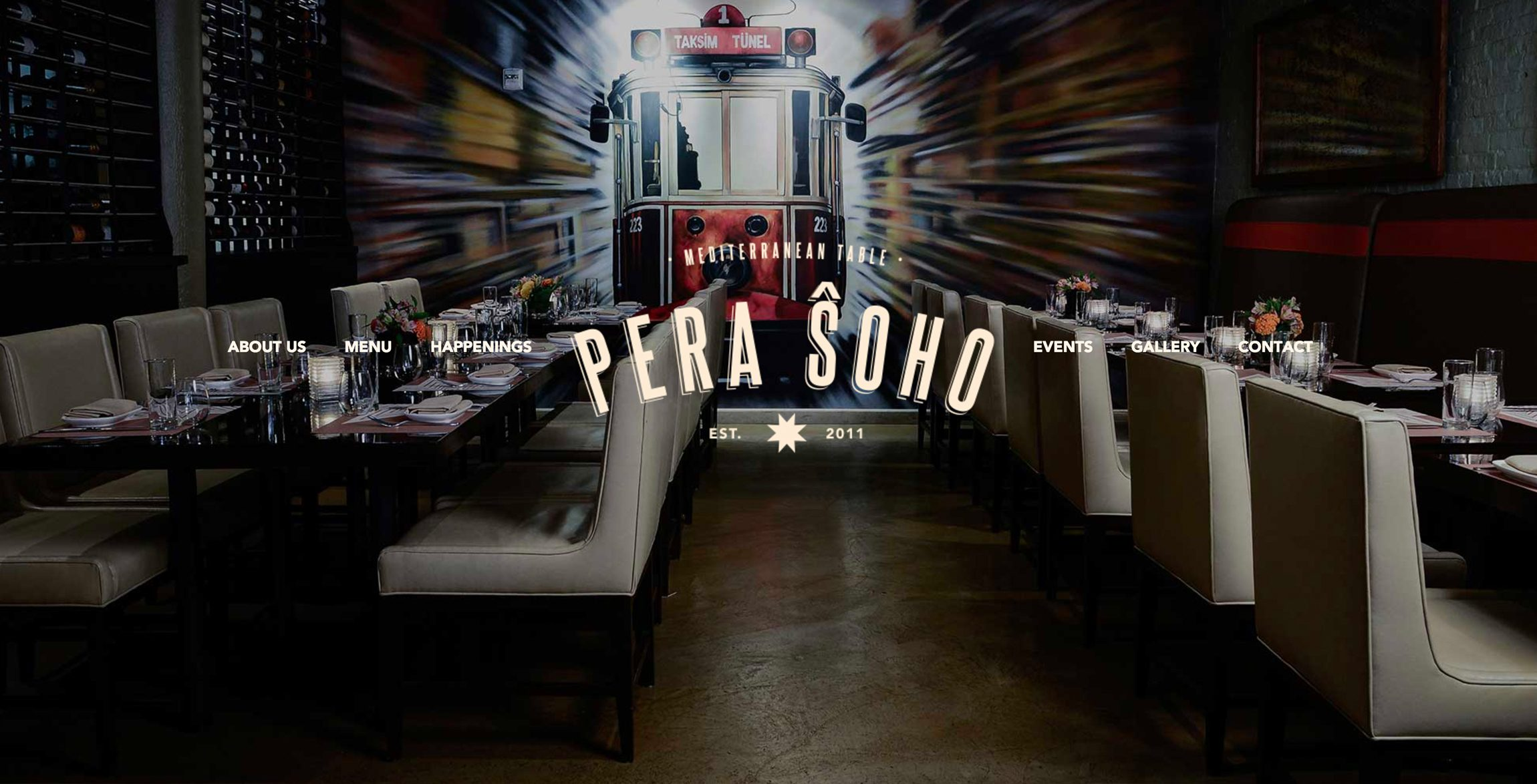 Pera Soho Big Idea